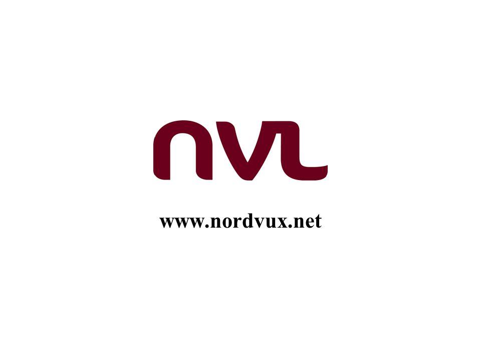 NMR prioriterade områden med egen styrgrupp för varje område Skola Högre utbildning Vuxnas lärande Språk IT-politik
