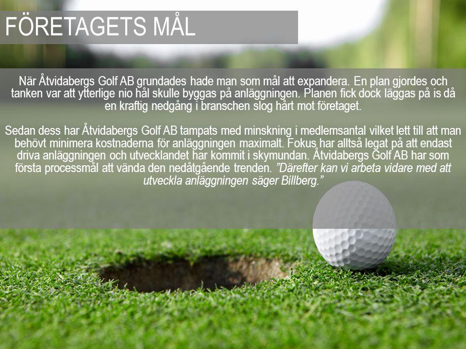 När Åtvidabergs Golf AB grundades hade man som mål att expandera. En plan gjordes och tanken var att ytterlige nio hål skulle byggas på anläggningen.