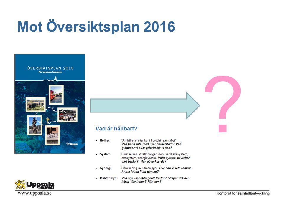 Mot Översiktsplan 2016 ?