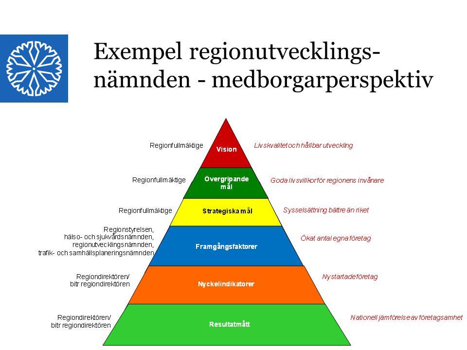 Landstinget i Östergötland Exempel regionutvecklings- nämnden - medborgarperspektiv