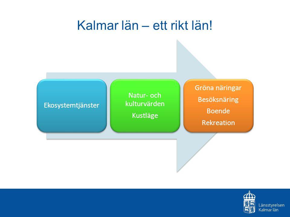 Kalmar län – ett rikt län.