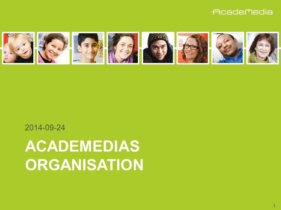 1 ACADEMEDIAS ORGANISATION 2014-09-24