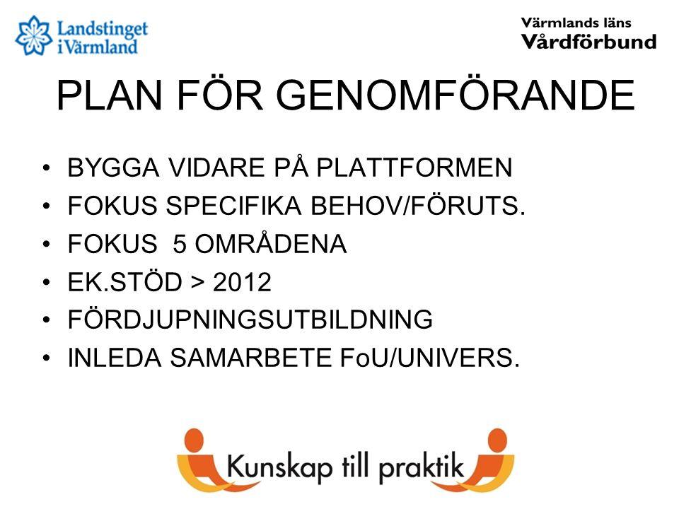 Västra Få nyckelpersoner från landstinget, speciellt allmänmedicin.