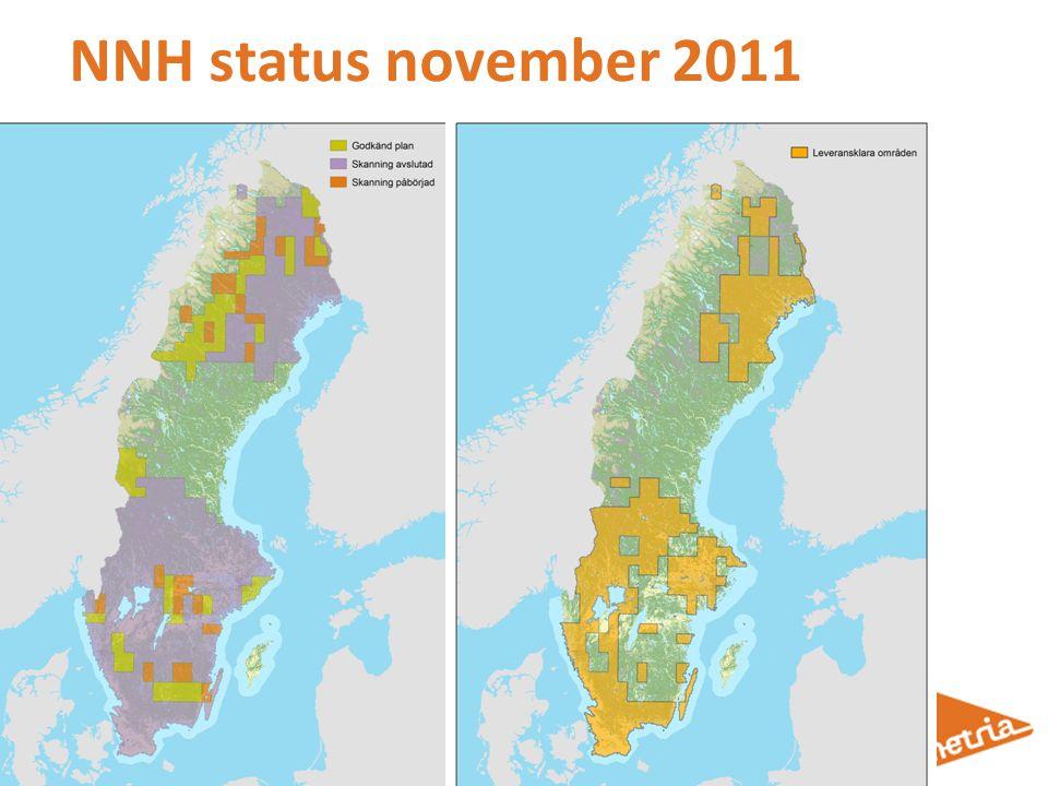 NNH status november 2011