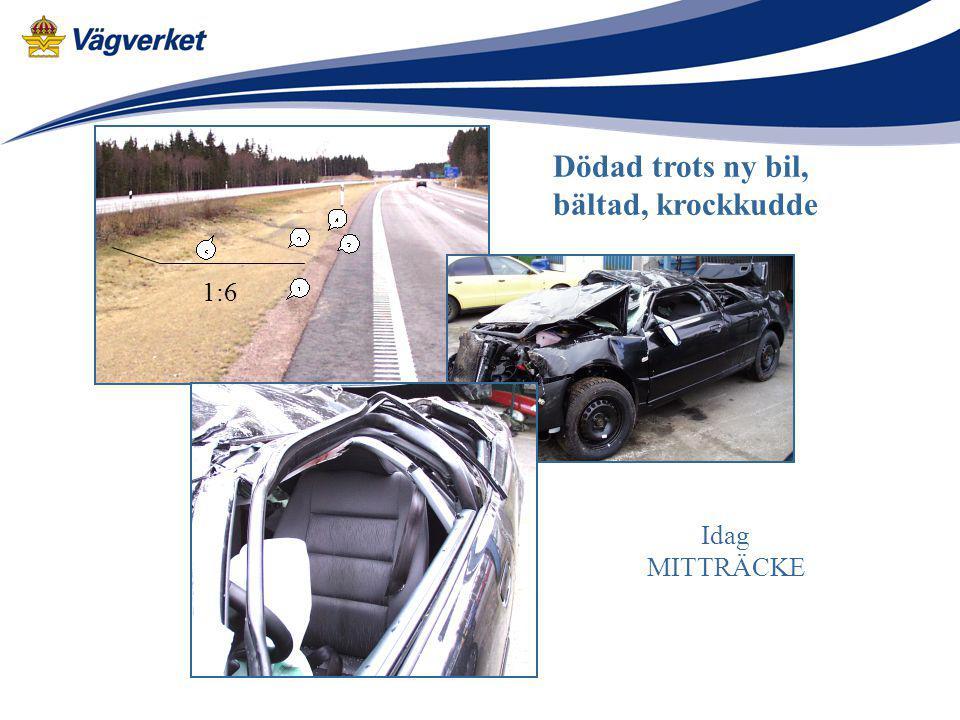 Dödad trots ny bil, bältad, krockkudde 1:6 Idag MITTRÄCKE