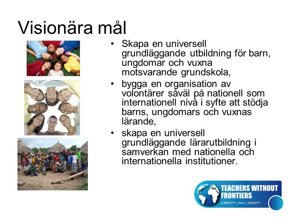 Universell grundläggande utbildning En utbildning som är fri från religiös, politisk och ekonomisk påverkan, fri bildning utgår från aktuell forskning i de akademiska disciplinerna och evidensbaserade erfarenheter och inkluderar pedagogik och filosofi