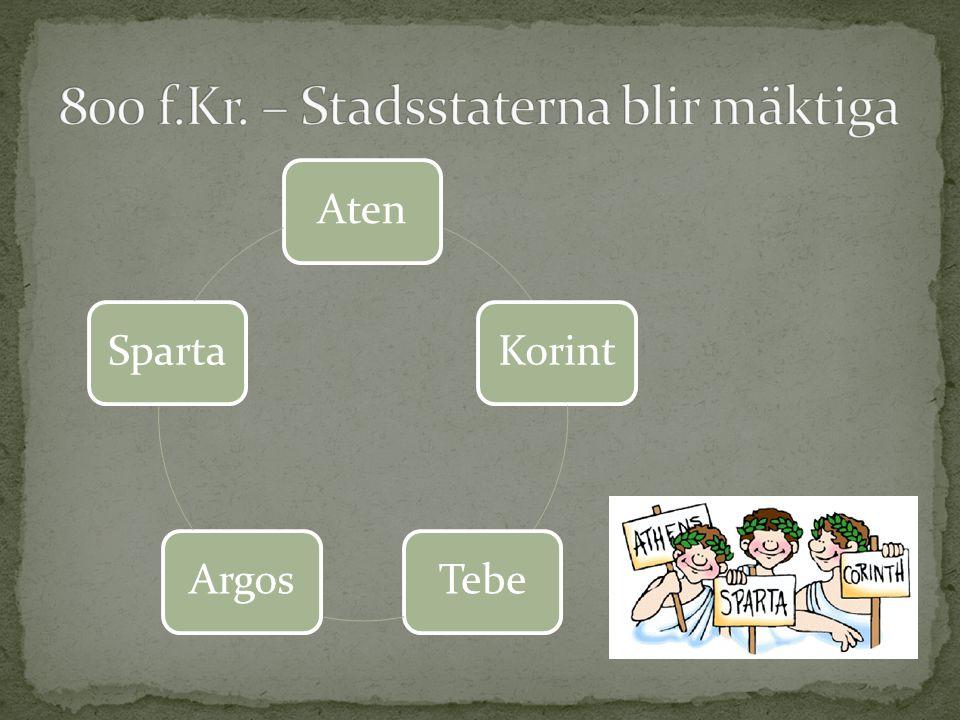 AtenKorintTebeArgosSparta