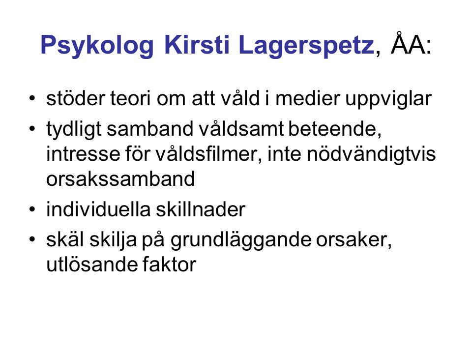 Anita Werner: Barn i TV-åldern.Studentlitteratur 1996.