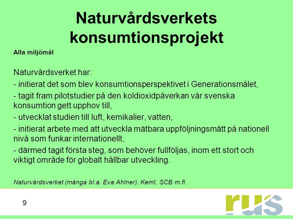 Svensk vattenförvaltning Alla vattenmiljökvalitetsmål Vattenförvaltningsarbetet grundat på EU:s ramdirektiv för vatten har satt igång ett enormt engagemang kring vattnets kvalitet samt vad som kan göras för att åstadkomma god vattenstatus på avrinningsområdesnivå (i vissa även på vattenförekomstnivå).