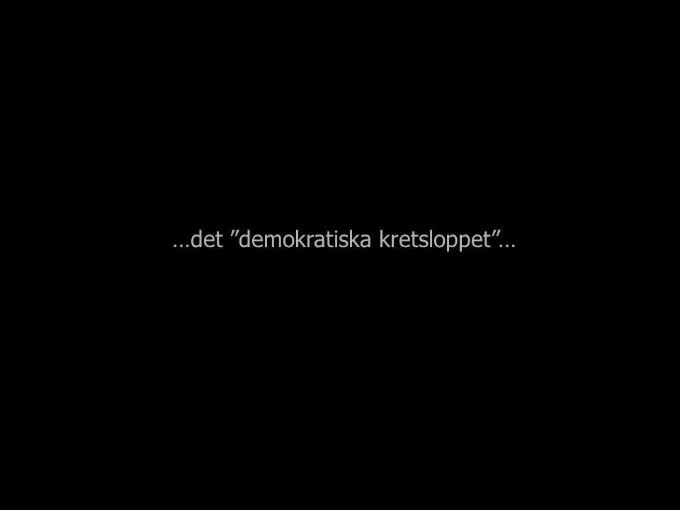 …det demokratiska kretsloppet …