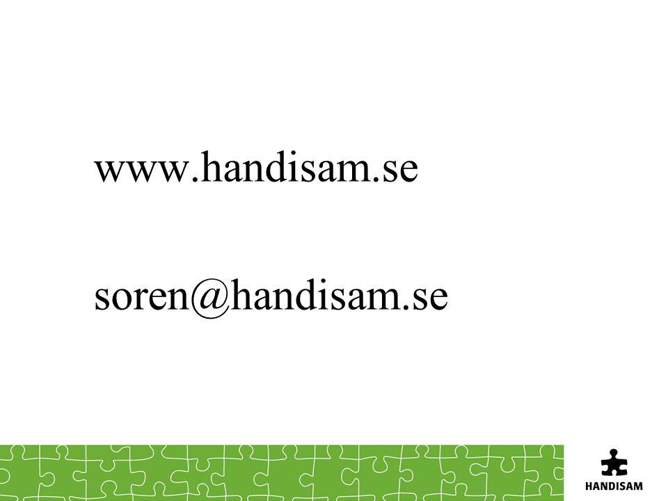 www.handisam.se soren@handisam.se