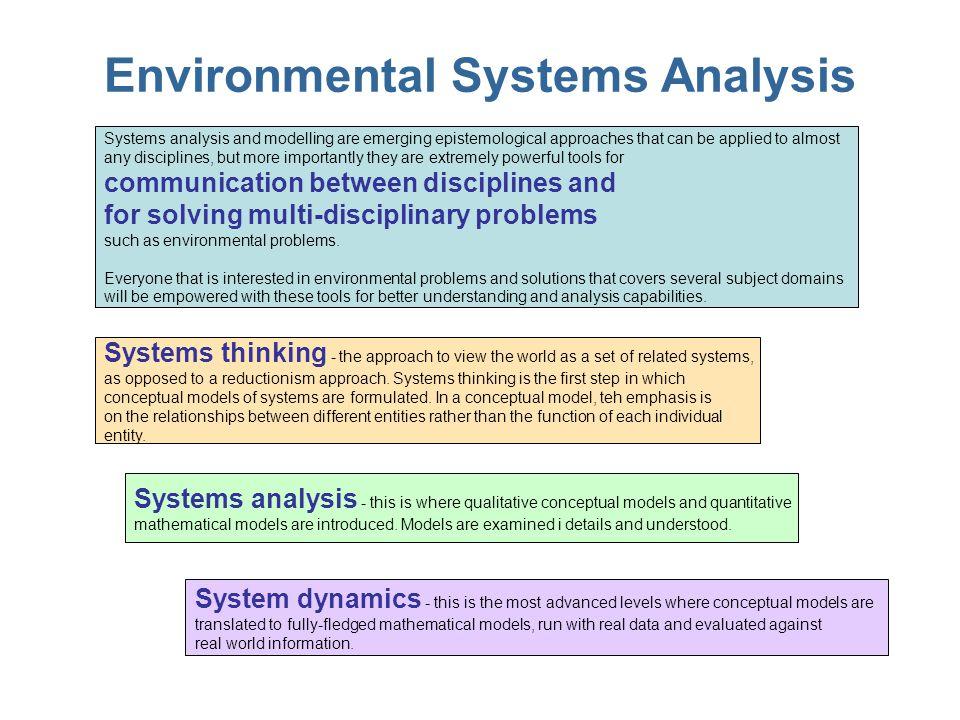 Fångar i vårt eget tänkande Du kan inte lösa ett problem med samma tankesätt som skapade problemet Vi tenderar att tänka linjärt Systemets struktur influerar systemets beteende Lösningar kommer ofta genom att tänka nytt Reduktionistiskt tänkande är ofta begränsande