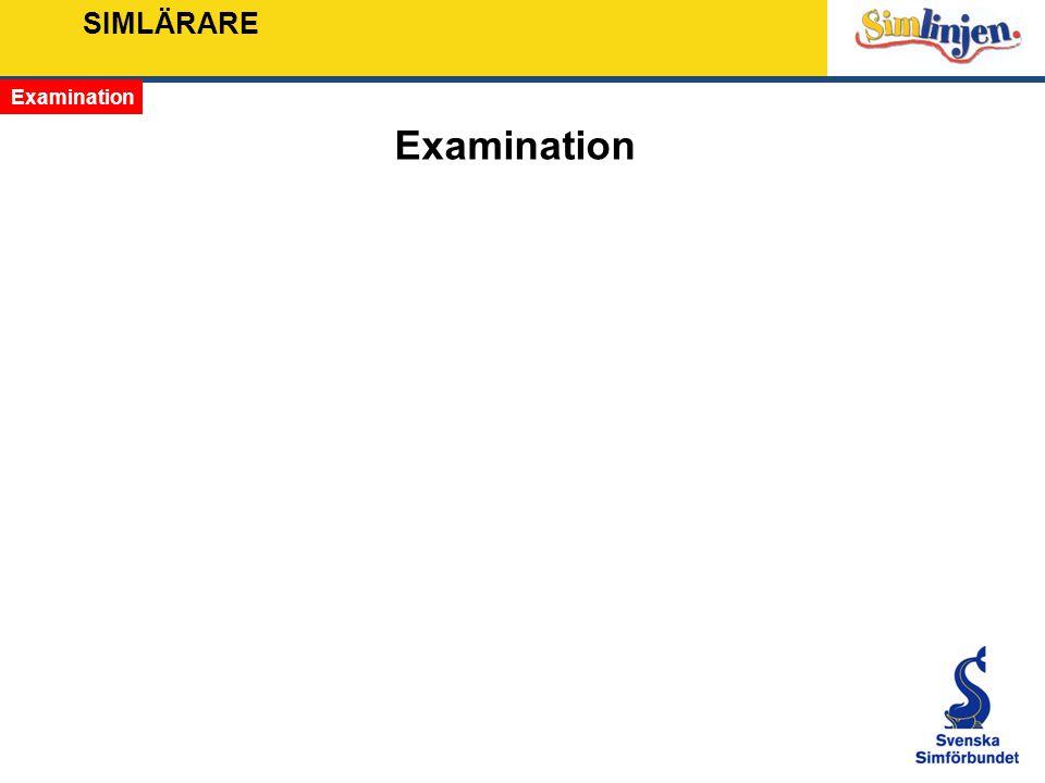 SIMLÄRARE Examination