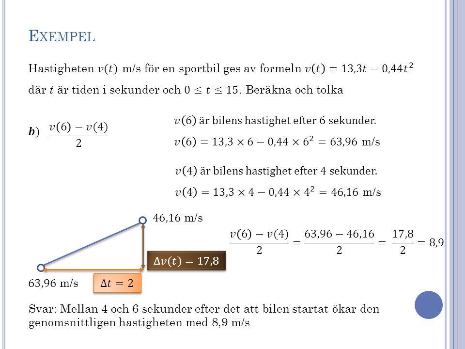 ⇨ Punkten Q närmar sig punkten P.⇨ Sekanten övergår i en tangent i punkten P.