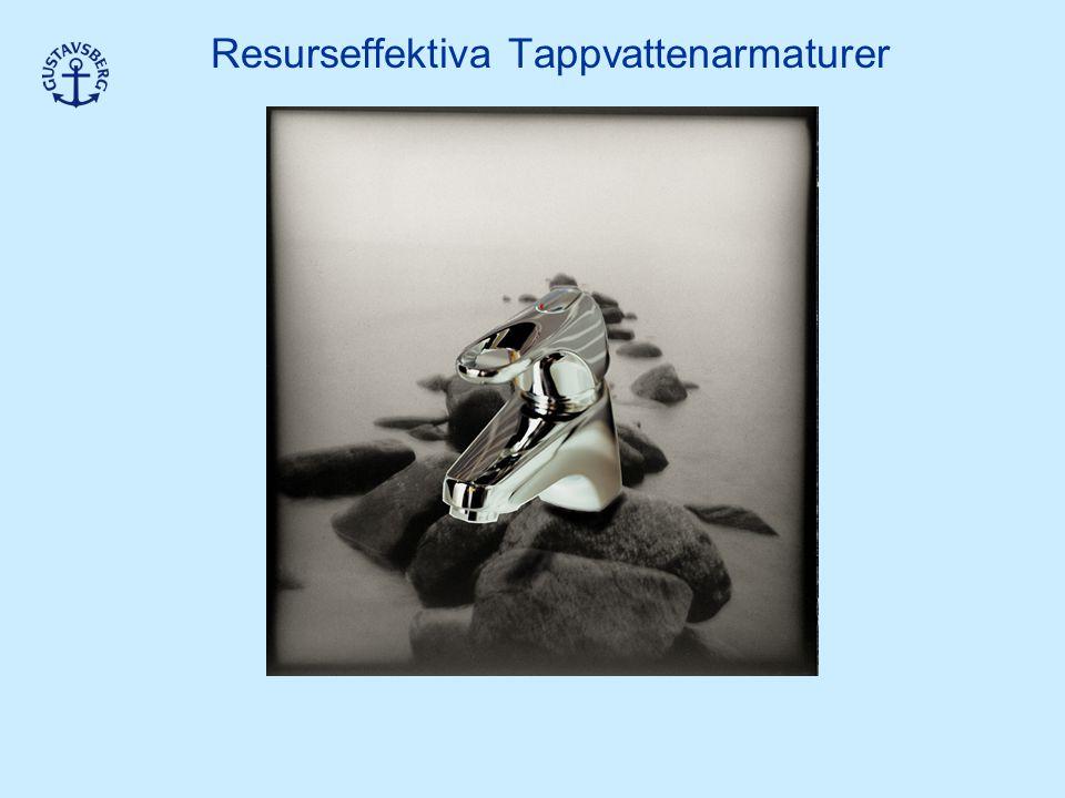 Resurseffektiva Tappvattenarmaturer