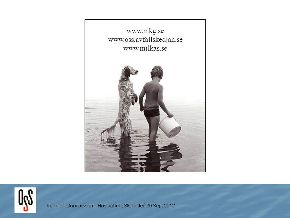 www.mkg.se www.oss.avfallskedjan.se www.milkas.se