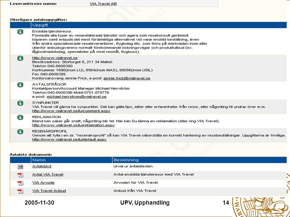 2005-11-30UPV, Upphandling14