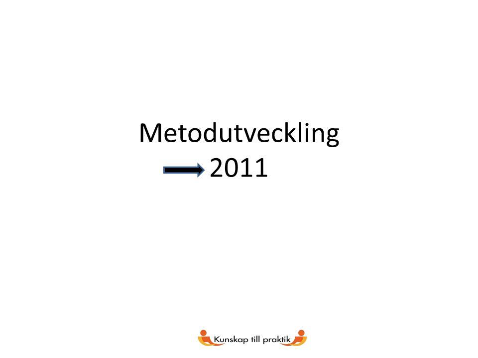Metodutveckling 2011