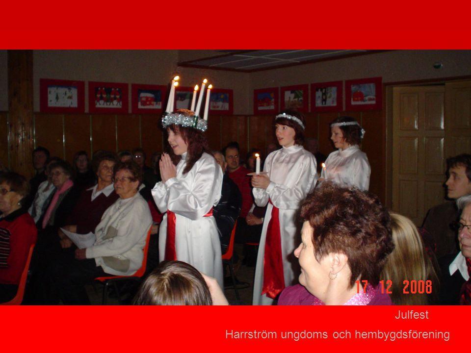 Harrström ungdoms och hembygdsförening Julfest