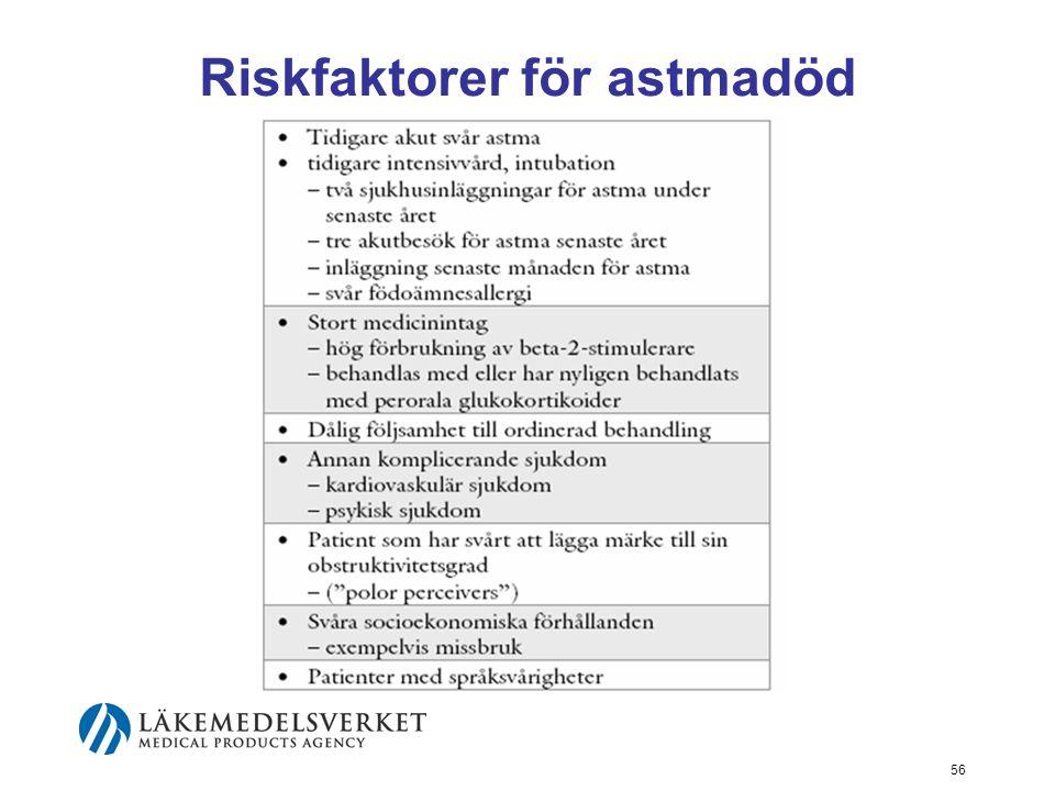 57 Akut astma under graviditet Akuta astmaattacker hos gravida behandlas på samma sätt som hos icke-gravida.