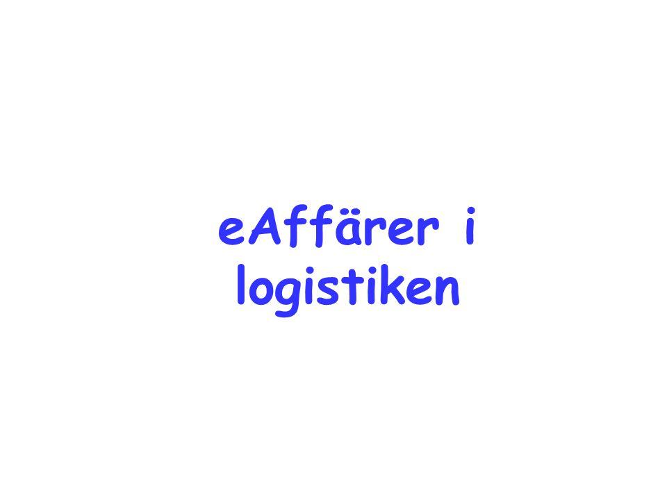 eAffärer i logistiken