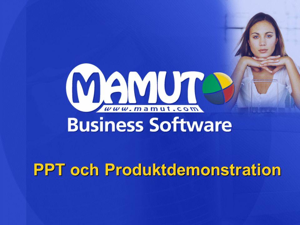 PPT och Produktdemonstration