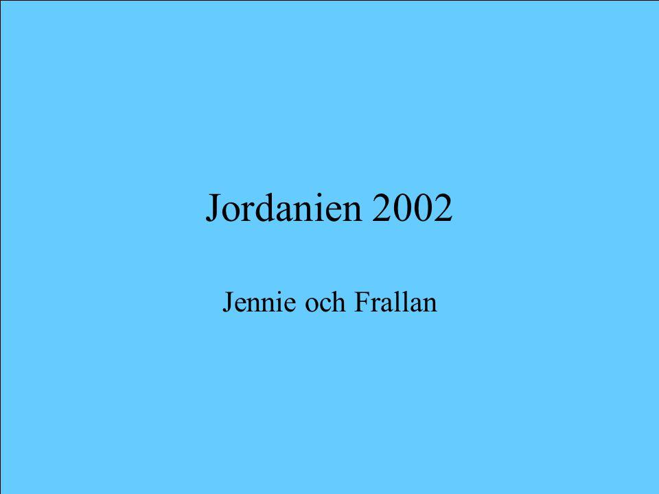 Jordanien 2002 Jennie och Frallan