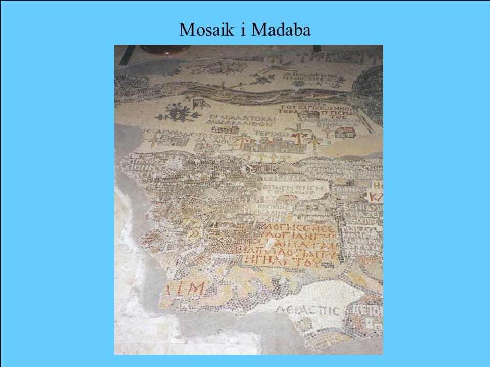 Mosaik i Madaba