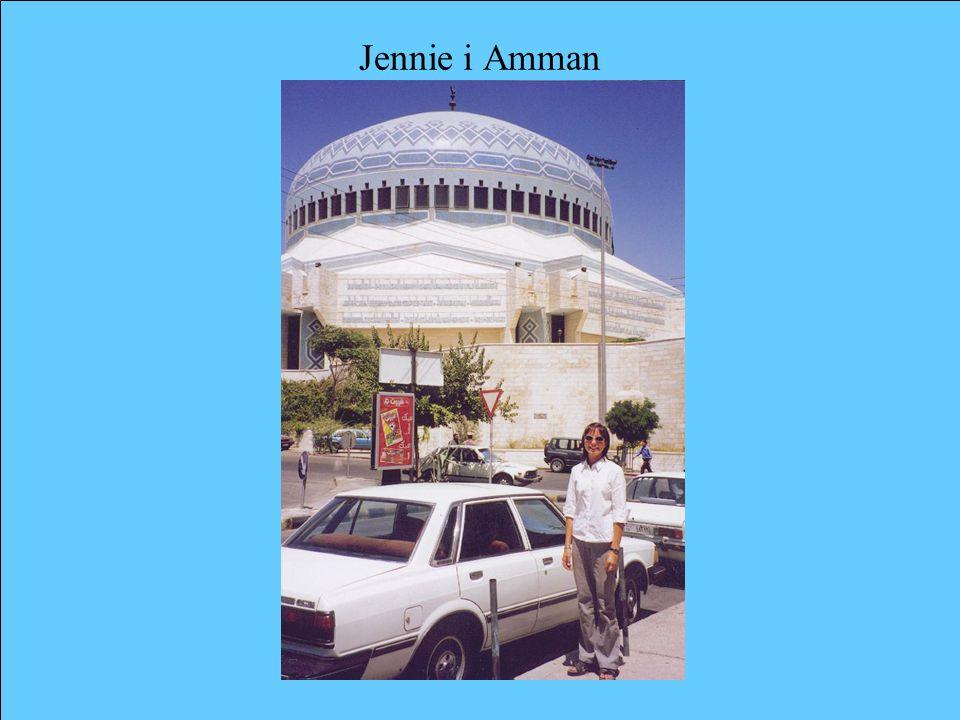 Jennie i Amman