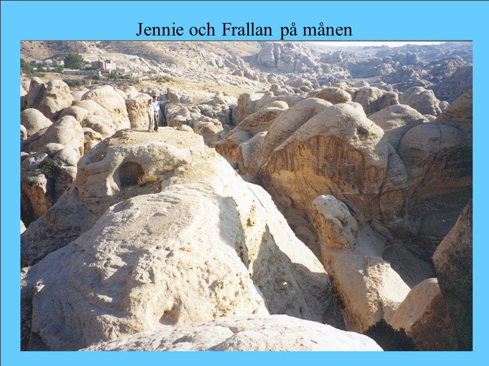 Jennie och Frallan på månen