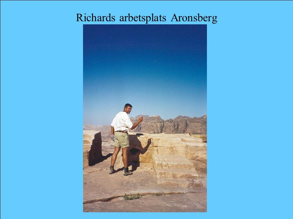 Richards arbetsplats Aronsberg