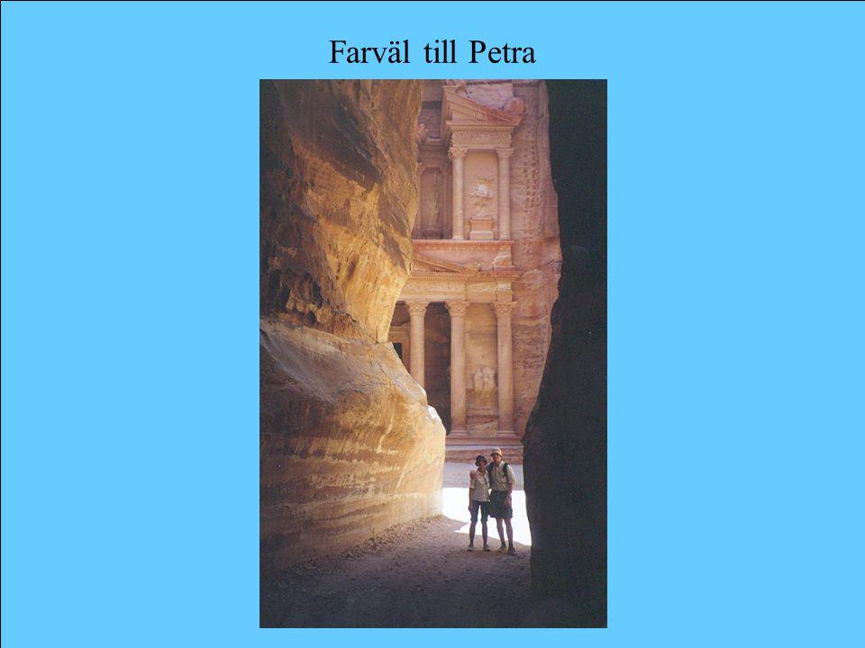 Farväl till Petra