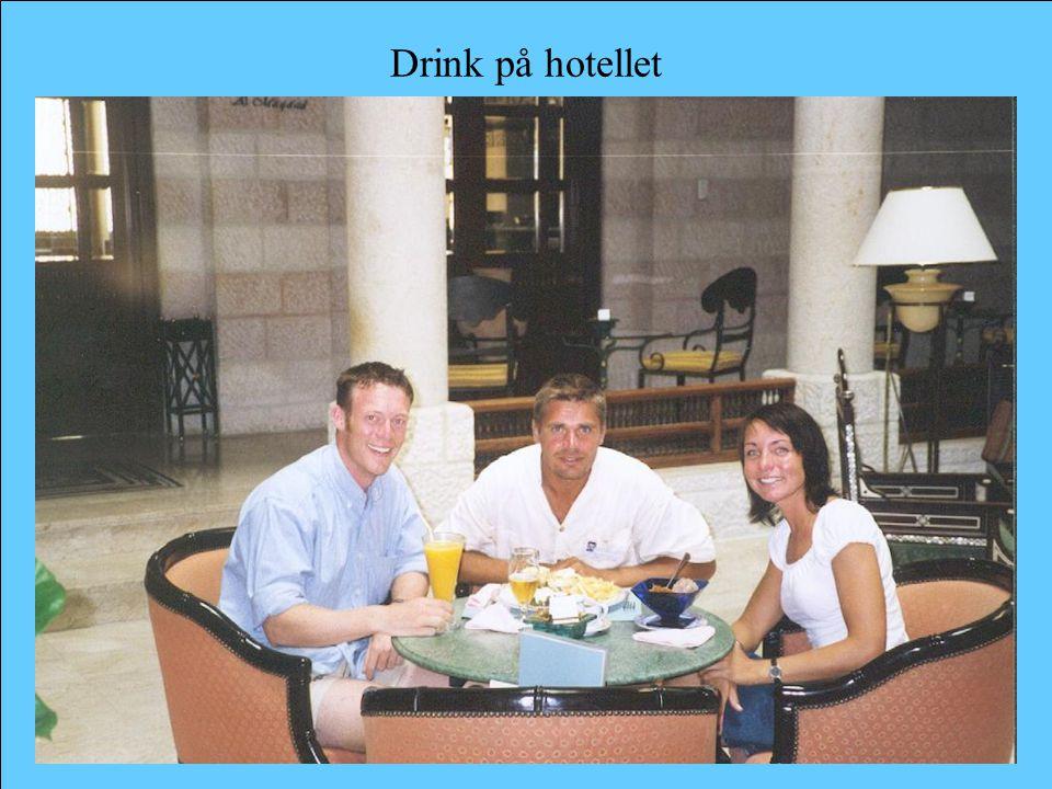 Drink på hotellet