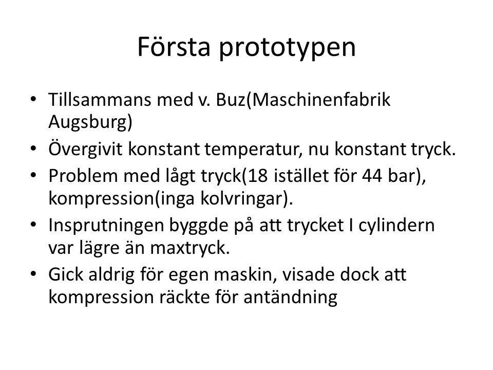 Första prototypen Tillsammans med v.