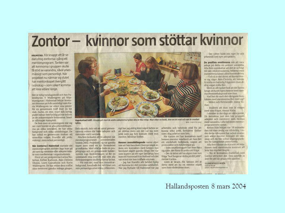 Hallandsposten 8 mars 2004