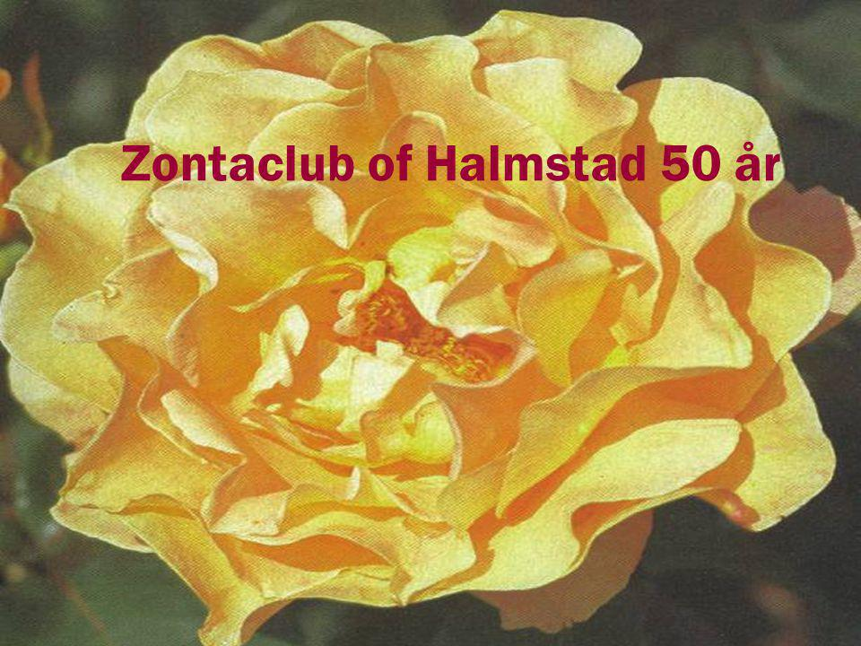 Zontaclub of Halmstad 50 år