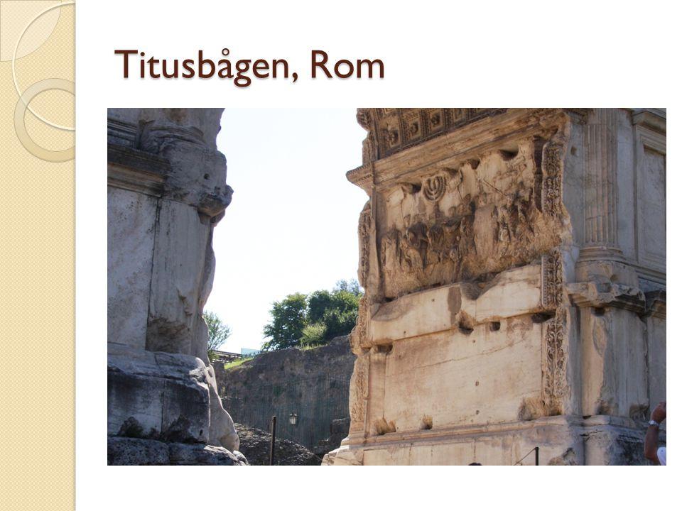 Titusbågen, Rom