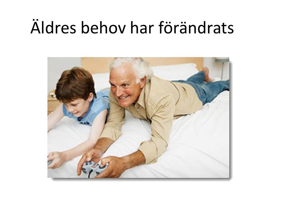 Äldres behov har förändrats