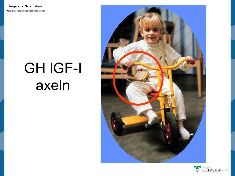 Angereds Närsjukhus - Vård och varsamhet nära människan - GH IGF-I axeln