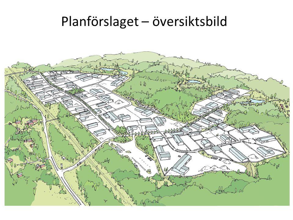 Planförslaget – översiktsbild