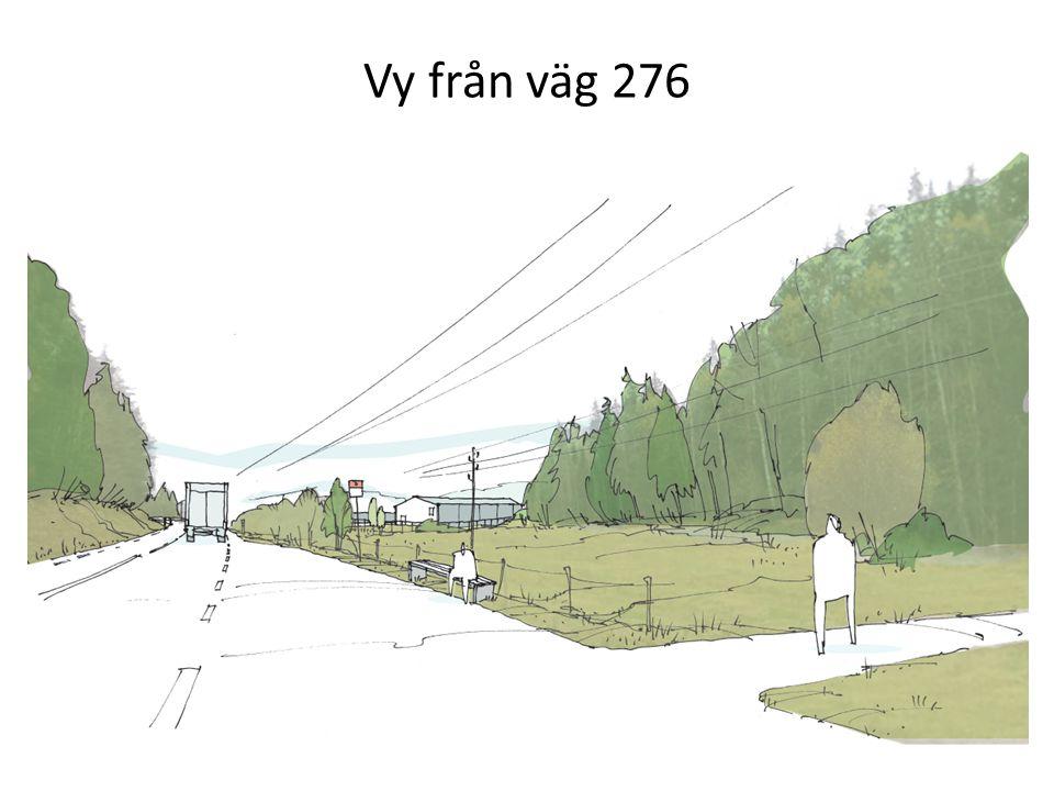 Vy från väg 276