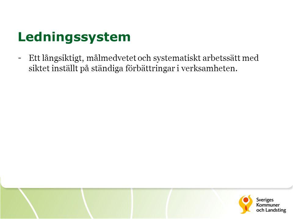Egenkontroll Egenkontroll är systematisk uppföljning och utvärdering av den egna verksamheten samt kontroll av att den bedrivs enligt de processer och rutiner som ingår i verksamhetens ledningssystem.