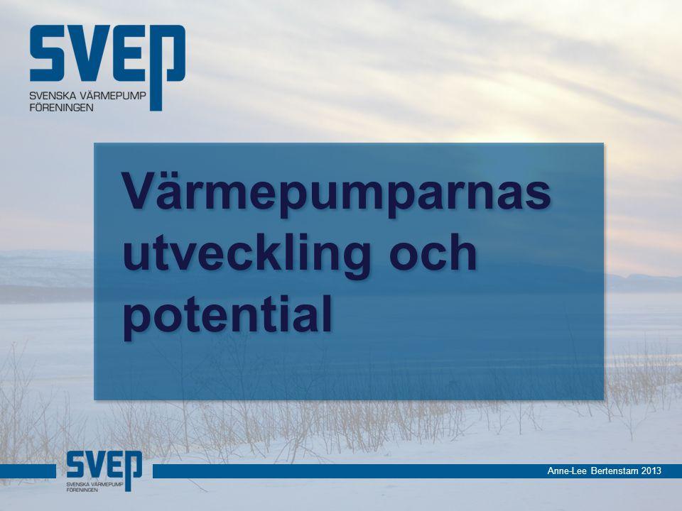 Anne-Lee Bertenstam 2013 Värmepumparnas utveckling och potential