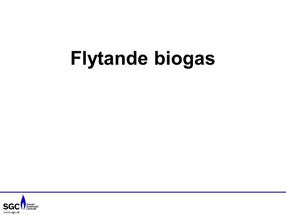 www.sgc.se Flytande biogas