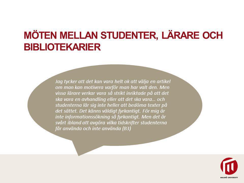GRÄNSÖVERSKRIDANDE ARBETE Hur kan bibliotekarier och lärare arbeta gränsöverskridande.