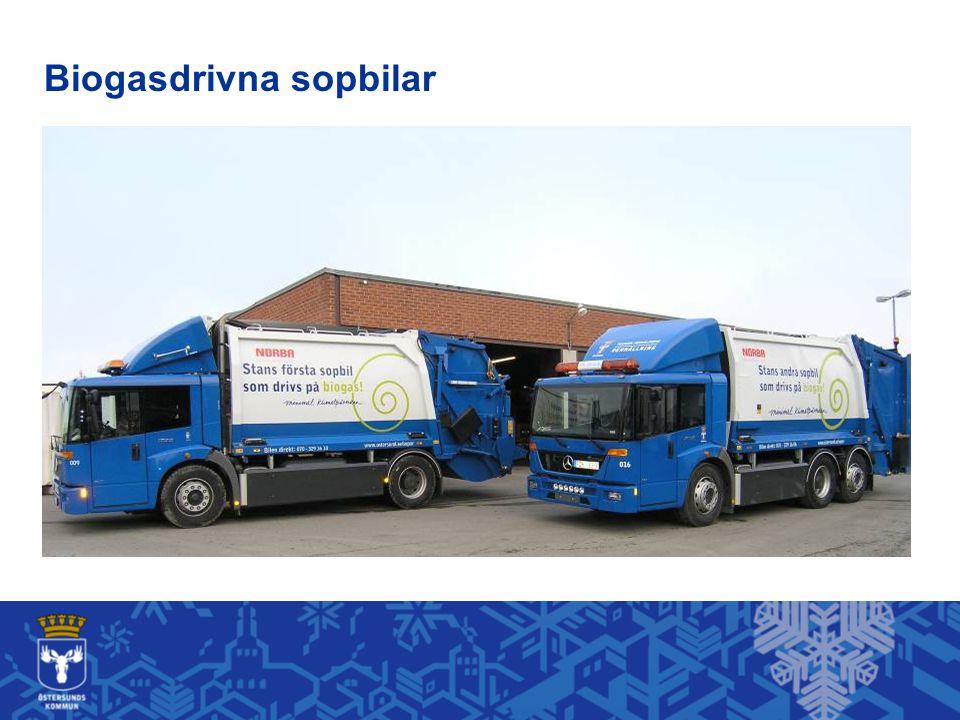 Biogasdrivna sopbilar