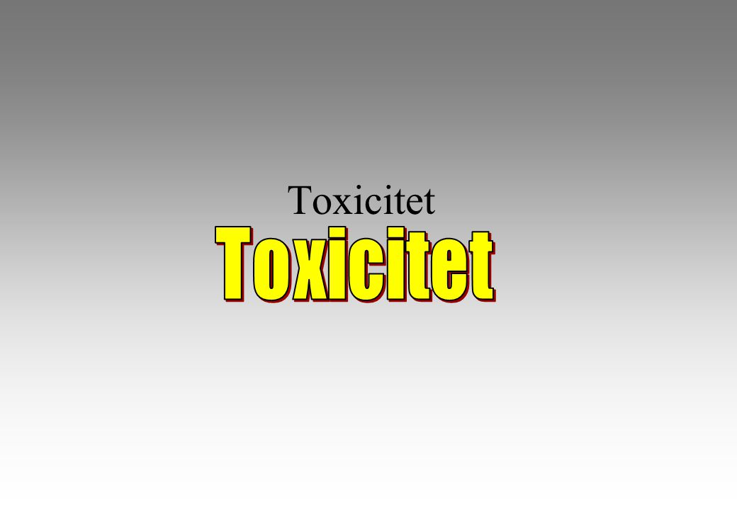 Toxicitet