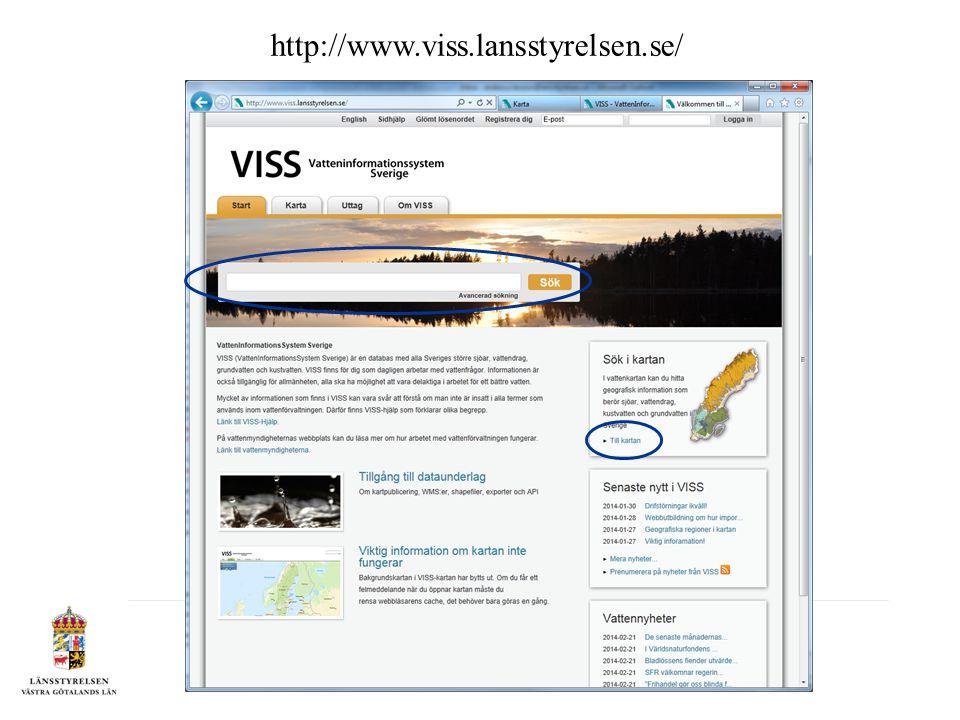 http://www.viss.lansstyrelsen.se/