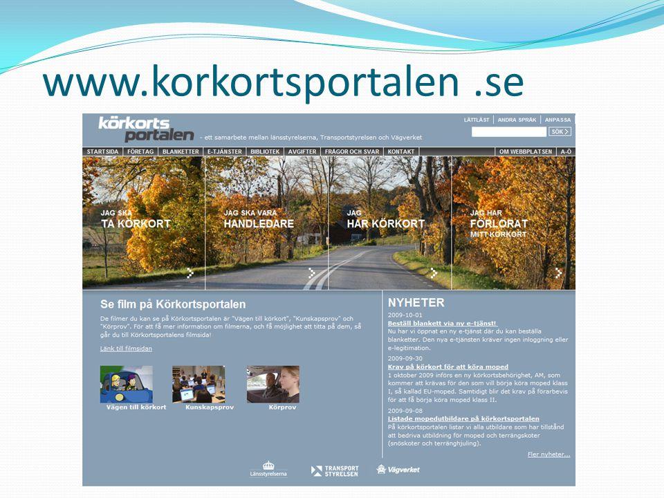 www.korkortsportalen.se