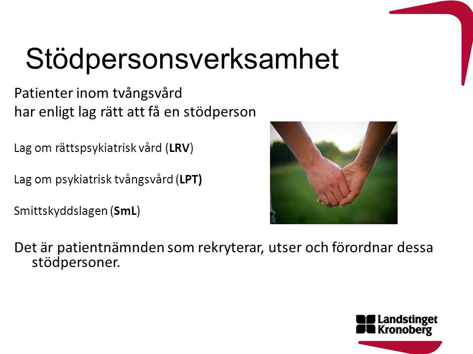 Patientnämndens ledamöter 2011-2014 Kent Alriksson, ordf (m) Bo Dalesjö, vice ordf (s) Sven-Erik Svensson (c) Nils-Erik Carlström (fp) Maria Svensson Lundin (kd) Jerker Nilsson (v) Gullvi Andersson (mp) Jan Lorentzon (sd) Patientnämndens handläggare: Annika Lundgren Carina Rissvik Patientnämndens uppgifter är rådgivande och har inga disciplinära befogenheter.